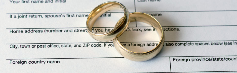 Tax tips for newlyweds